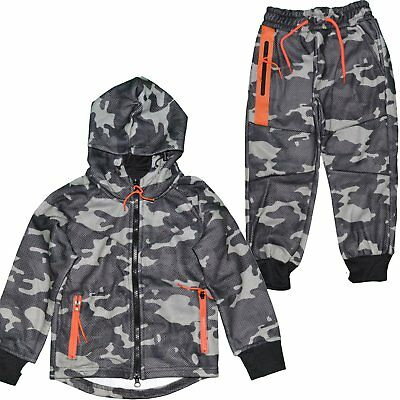 Closeout  Ensemble Complet Jogging  Enfant  Kids Ensemble Camo J241  C Ne Grade