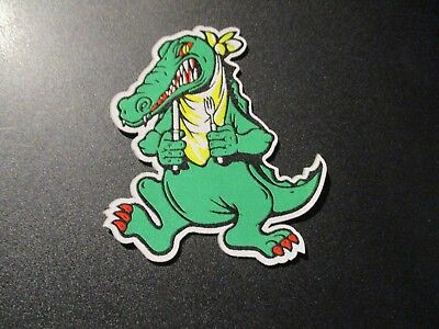 JERRY GARCIA Iron on PATCH GATOR LOGO New Grateful Dead official authentic merch