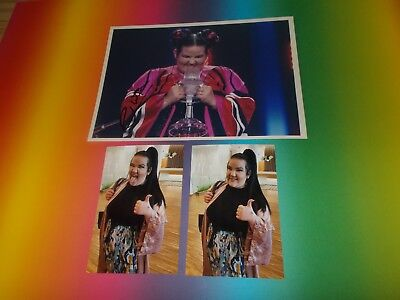 Netta Barzilai – Toy ESC 2018 signed signiert Autogramm auf 20x28 Foto in person