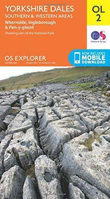 Yorkshire Dales South & Western (OS Explorer Map) by Ordnance Survey | Map Book