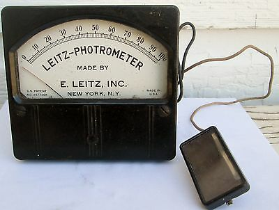 Vintage Medical Lietz Photrometer  New York Steampunk Display