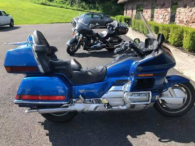 1999 Honda Gold Wing  1999 Honda Goldwing Black Anniversary Special Edition Touring 1500cc Extras!