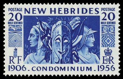 "BRITISH NEW HEBRIDES 80 (SG82) - ""Britannia and Marianne"" (pa31758)"