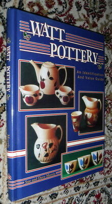Watt Pottery Identification Value Guide,Morris,VG-,HB,1993,First   P s