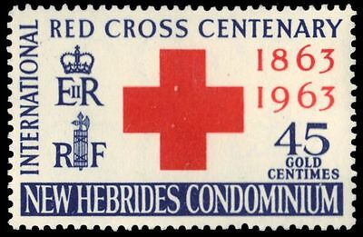 BRITISH NEW HEBRIDES 95 (SG97) - International Red Cross Centenary (pa81464)