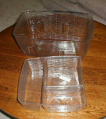 Longaberger Family Picnic 1999 Basket 2 piece Plastic Protector Set Only