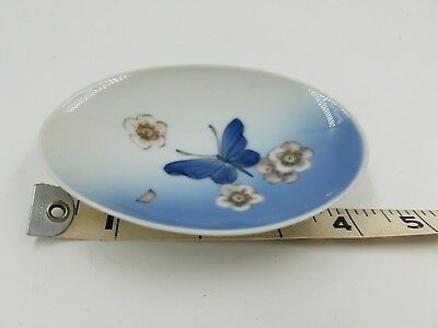 royal copenhagen small butterfly dish numbered