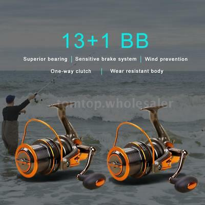 12 BB Fishing Reel Left/Right Fishing Spinning Reel Light Smooth Rock Reel K2D1