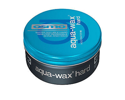 Osmo Aqua Wax HARD - Barbers Mens Strong Hold- 100ml