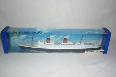 Minic Ships - Diecast By Hornby - Rms Queen Elizabeth - 1:1200 - Ovp - (1.bo-7)