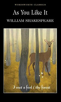 As You Like It (Wordsworth Classics) by William Shakespeare | Paperback Book | 9