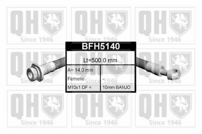 Genuine Qh Brake Cable Part Left Rear Fit Rover 200 220 D Sd 220 Sdi 211