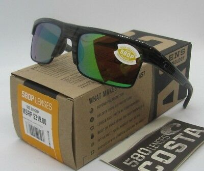 707a4d0d510ce COSTA DEL MAR silver teak green mirror SOUTH SEA POLARIZED 580P sunglasses!  NEW!