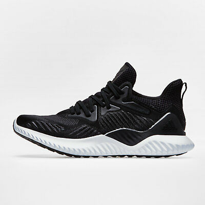 sports shoes b9dfe 5778c adidas Mens AlphaBounce Beyond Running Shoes Sports Trainers Black