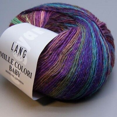 Lang Yarns Mille Colori Baby 150 / 50g Wolle