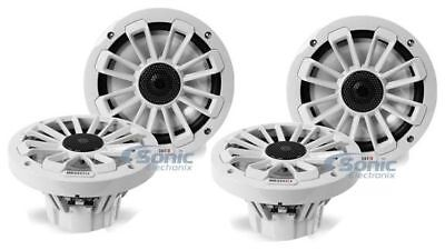 "(2 Pair) MB Quart NK1-116 Nautic 6.5"" 120W Coaxial Marine Boat Speakers Package"