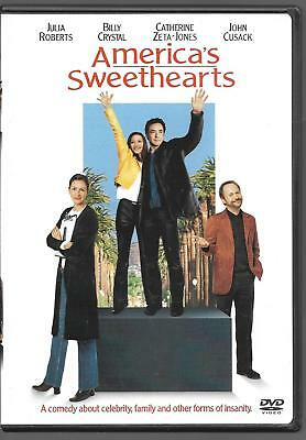 Americas Sweethearts (DVD, 2001) Julia Roberts  ***Scratch Free Disc!!***