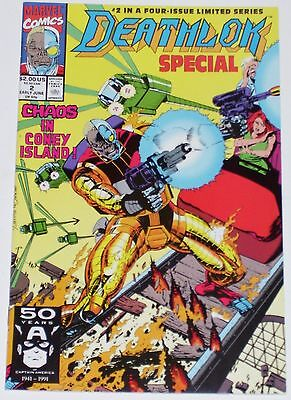 Deathlok Special #2 from June 1991 VF+ to NM- #2 of 4 issue limited series