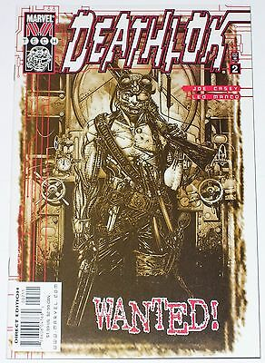Deathlok #2 from Oct 1999 VF to VF/NM