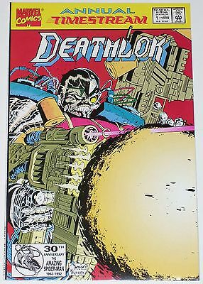 Deathlok Annual #1 from 1992 VF/NM to NM