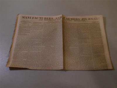 Manufacturers Farmers Journal and Providence from February 3, 1848 Newspaper