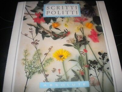 "Scritti Politti - Absolute - Vinyl Record 12"" Single - 1984 - VS 680-12"