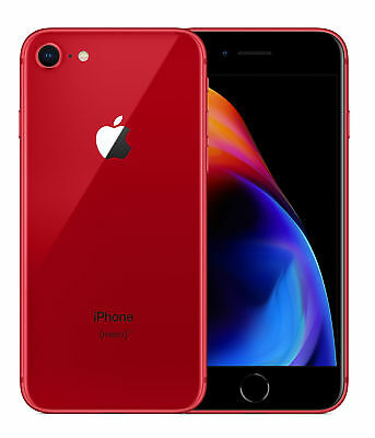 "Apple iPhone 8 64GB ""Factory Unlocked"" (PRODUCT)RED 4G LTE iOS Smartphone"