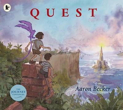 NEW Quest By Aaron Becker Paperback Free Shipping