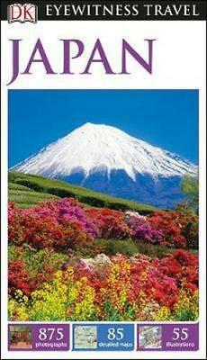 NEW Japan By DK Eyewitness Travel Guide Paperback Free Shipping