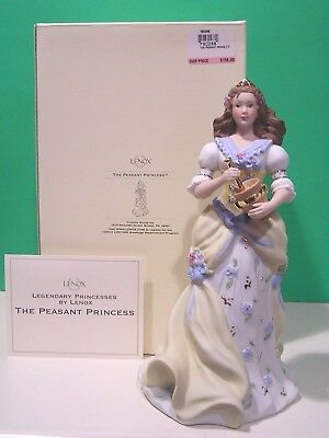 LENOX Legendary PEASANT PRINCESS Figurine NEW in BOX with COA