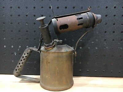 Vintage Blow Torch Brass Companion Made In Sweden - Good Condition