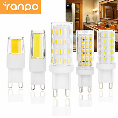 Dimmable LED Corn Bulb G9 COB SMD Ceramic 6W 7W 8W 9W Replace Halogen Lamp Light