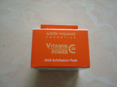 Judith Williams Vitamin C Power 24 Exfoliating Pads, 40 Stück