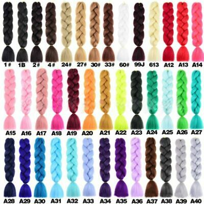 *Ombre Kanekalon Jumbo Braiding Synthetic Hair Extension African - Braid 24""
