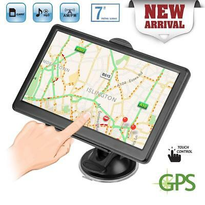 Portable 7inch  Mirror Touch Screen Car GPS 8GB Satellite Navigation w/ Free Map
