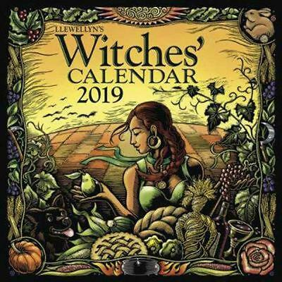 Llewellyn's 2019 Witches' Calendar by Kathleen Free Shipping!