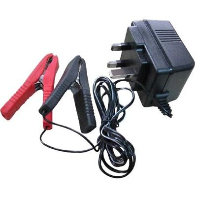 12v Trickle Charger With Crocodile Clips - Blackspur Bbjs206