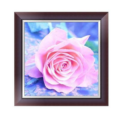 "Diamond Painting - Diamant Malerei - Stickerei - ""Rosa Rose"" (853)"