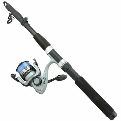 Jarvis Walker Water Rat Telescopic Retractable Rod Combo