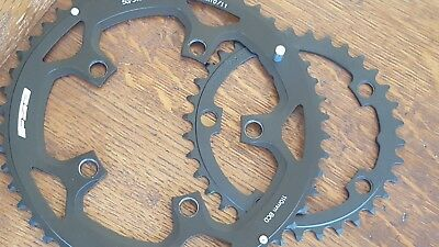 FSA Chainring SET OF 2 (34 + 50t) Road Bike 110 BCD Compact (10 or 11 speed) NEW