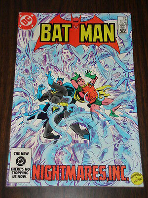 Batman #376 Dc Comics Dark Knight Nice Condition October 1984