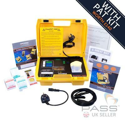 *NEW* Martindale EasyPAT 1600 PAT Tester + Bumper Pack of Accessories / UK