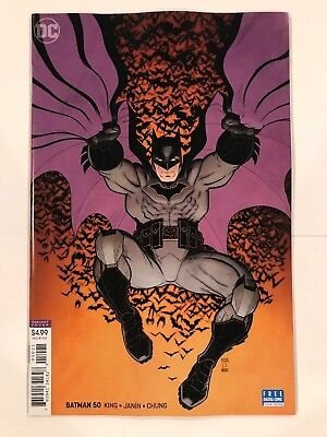 Batman #50 Wedding Arthur Adam's Variant DC Comic 1st Print 2018 unread NM