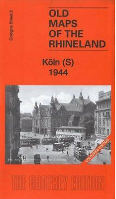 Old Ordnance Survey Map Koln South 1944
