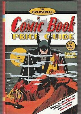 Overstreet Comic Book Price Guide #31, Anderson Cover,HC.  Free U.S. Shipping.