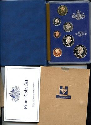 Australia ~ 1990 ~ Proof Set ~ 8 Coin ~ Box Of Issue