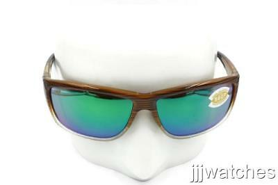 479511e361664 New Costa Del Mar Mag Bay Wood Fade Sunglasses Green Polarized AA 81 OGMP   189