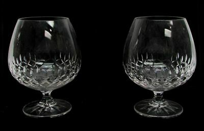 Pair Of Galway Baldmore Snifter Crystal