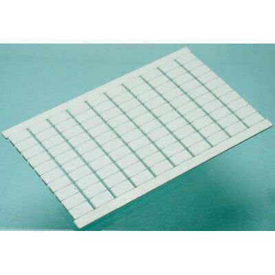 Entrelec 1SNA233000R0100 Markers White 6mm Pitch (Pack 100)