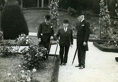 Paris Garden Party Bagatelle Rose Garden Maurice de Fontenay Photo Meurisse 1930